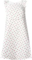 DELPOZO polka dot A-line dress - women - Silk/Cotton/Polyamide/Polyester - 34