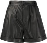 FEDERICA TOSI high-rise biker shorts