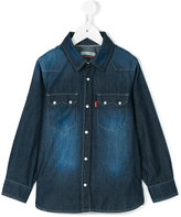 Levi's Kids - faded denim shirt - kids - Cotton - 4 yrs