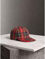 Burberry Tartan Baseball Cap , Size: S/M