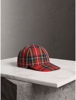 Burberry Tartan Baseball Cap