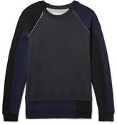Maison Margiela Oversized Panelled Loopback Cotton-jersey Sweatshirt