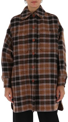 See by Chloe Oversized Checked Shirt