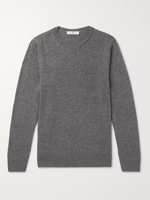 Mr P. Slim-Fit Merino Wool Sweater - Men - Gray