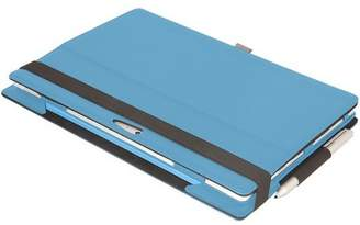 """Factory Urban SUR24UF Carrying Case (Folio) Tablet - Cyan - Leather - 8.5"""" Height x 12.1"""" Width x 0.7"""" Depth"""