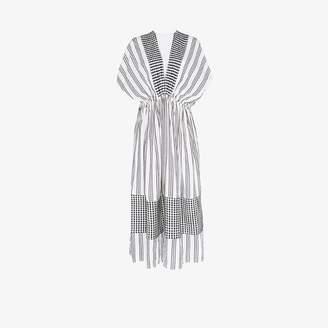 Lemlem Tigist striped cotton maxi dress