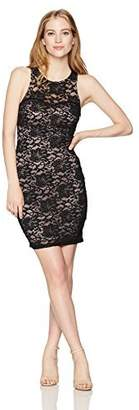 My Michelle Sequin Hearts Women's Lace Dress