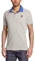 Pepe Jeans Men's Esteban Short sleeve Polo T-Shirt - - Large (Brand size: XS)
