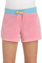 Juicy Couture Girl's Colorblock Terry Shorts
