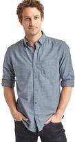 Gap Oxford slub standard fit shirt