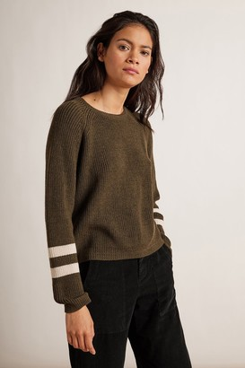 Velvet by Graham & Spencer Chasen Engineered Stitches Raglan Sweater