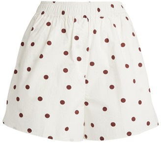 Ganni Polka-Dot Shorts
