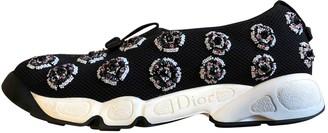 Christian Dior Fusion Black Cloth Trainers