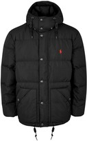 Polo Ralph Lauren Elmwood Black Quilted Shell Jacket