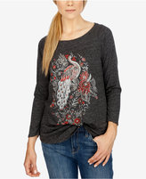Lucky Brand Long-Sleeve Graphic T-Shirt