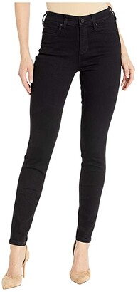 Liverpool Abby Skinny in Perfect Stetch Denim in Black Rinse (Black Rinse) Women's Jeans