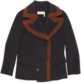 Sonia Rykiel Grey Wool Jacket for Women