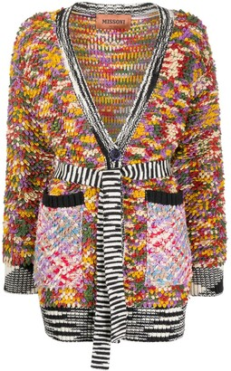 Missoni Patterned Cardi-Coat