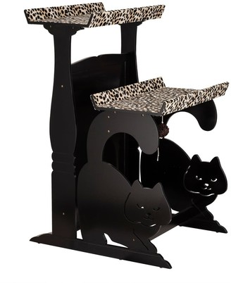 Elegant Home Fashions Jasper's Double Rest in black finish