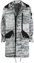 Stone Island Shadow Project hooded coat