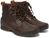 Sorel - Ankeny Waterproof Leather And Rubber Boots