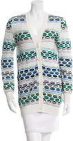 M Missoni Patterned Knit Cardigan
