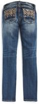 Miss Me Abstract Skinny Jeans (Big Girls)