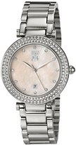 Jivago Women's JV5313 Parure Analog Display Quartz Silver Watch