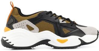 Emporio Armani Colour-Block Sneakers
