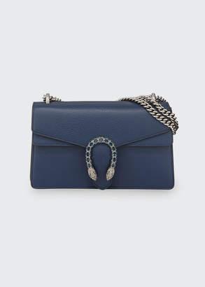 Gucci Pebbled Leather Shoulder Bag, Black