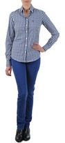 Gant N.Y. KATE COLORFUL TWILL PANT Blue