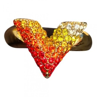 Louis Vuitton Essential V Red Metal Rings