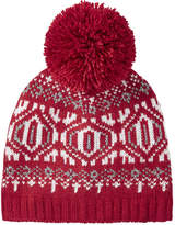 Joe Fresh Women's Fair Isle Knit Hat