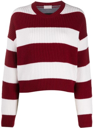 Mrz Two-Tone Striped Jumper
