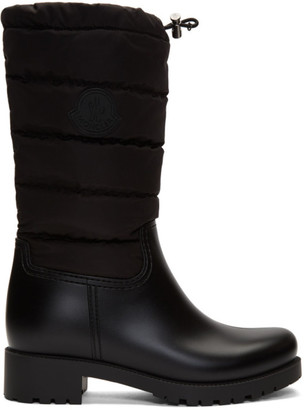 Moncler Black Ginette Boots