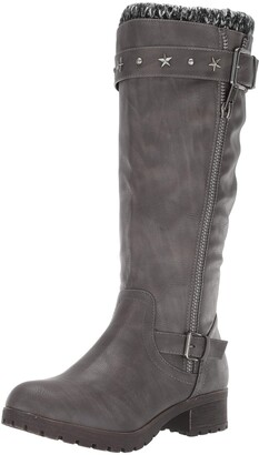 Sugar Women's Quickster Studded Lined Mid Calf Riding Boot