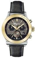 Salvatore Ferragamo '1898' Chronograph Leather Strap Watch, 42mm