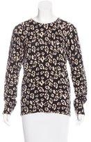 Equipment Cashmere Print Sweater