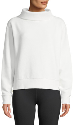 Varley Simon Ribbed Side-Zip Sweater
