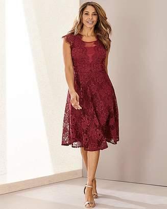 N. Joanna Hope Lace Fit Flare Dress