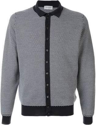 John Smedley button shirt cardigan