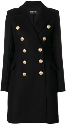 Balmain Double-Breasted Coat