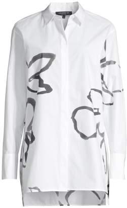 Lafayette 148 New York Kehlani Longline Shirt