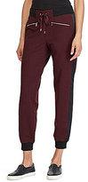 Lauren Ralph Lauren Contrast Side Seam Stripe Drawstring Waist Jog Pant