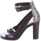 Derek Lam 10 Crosby Leather Ankle Strap Sandals