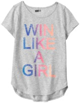 Crazy 8 Win Like A Girl Active Tee