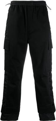 MCM Satin-Stripe Track Pants