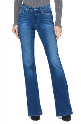Paige Genevieve High Waist Flare Jeans