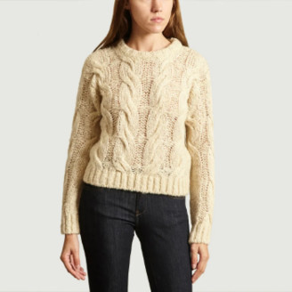Bellerose Beige Polyacrylic Torsades Nins Sweater - 0 | beige | polyacrylic - Beige