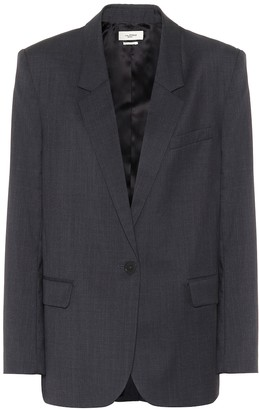 Etoile Isabel Marant Verix checked wool blazer